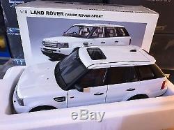 1/18 Autoart Land Rover Range Rover Sport Rare White