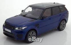 118 Kyosho Land Rover Range Rover Sport SVR bluemetallic/black