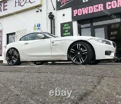 19 Noir Dmf Roues Alliage Pour BMW X1 E84 X3 E83 F25 X4 F26 X5 E53 5x120 Wr
