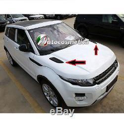 2 Grilles Coffre Prises D'air Pour Range Rover Evoque/sport Hood Air Vent Grid