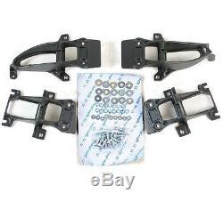 2 Marchepieds Antiderapant Aluminium + Abs Range Rover Voque L405 Et Sport L494