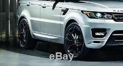 20 Pouces Jantes Range Rover Coupe Complet S HSE / Sport Svr Noir Autobiographie