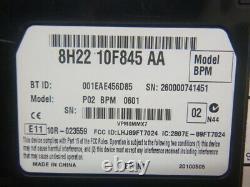 2010 LAND ROVER Range Rover Sport Bluetooth Module 8H2210F845AA