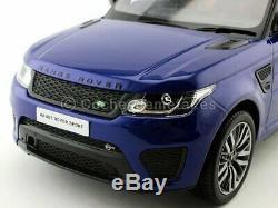 2015 Land Rover Range Rover Sport SVR Estoril Blue 118 Kyosho C09542BL