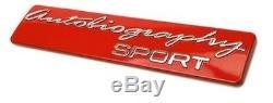 20x Range Rover Autobiography Sport Rouge/Chrome Badge Coffre Vente En Gros