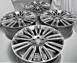 21 Pouces Jantes pour Land Rover Discovery Range Rover Sport 9.5J 4 Jantes Gris