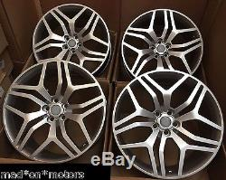22 Alloy Wheels Fits Vw T5 T6 Amarok X3 X4 X5 Discovery Range Rover Sport Vb Si