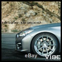 22 Blaque Diamant Bd23 Concave Argent Jantes pour Range Rover Hse Sport