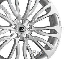 22 HAWKE Halcyon Alliages Range Rover Sport 05-09 Haute Puissance Argent Neuf