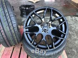 22 Noir Roues + pneu LAND ROVER RANGE ROVER MK IV 2012-2018 5.0 V8
