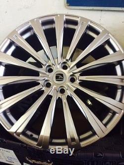 22 Range Rover / Sport Hawke argent Hawke Chayton alloy roues