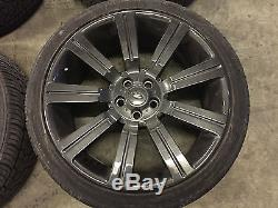 22 USED STORMER ALLOY WHEELS FITS RANGE ROVER SPORT VOUGE 5X120