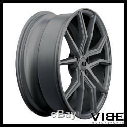 22 Xo Verona Gunmetal Concave Jantes pour Range Rover Hse Sport Lr3 Lr4