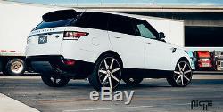 24 Niche Verona Roues Noir Usiné Jantes Adapté Range Rover Hse Sport Lr3