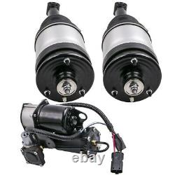 2x Amortisseurs Pneumatiques Arrière + Compresseur Pour Range Rover Sport Lr3/ 4