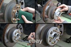 4x 15mm Elargisseur de voie 5x120 14x1.5 72.56mm Pour Land Rover Discovery/BMW 7