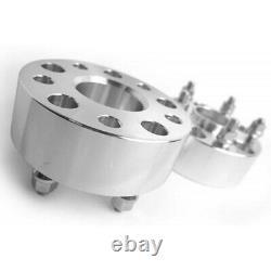 4x 50mm Elargisseur de voie 5x120 14x1.5 72.56mm Pour Land Rover Discovery/BMW 7