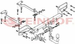 Attelage pour Land Rover Range Rover Sport L494 2013-2020 + faisceau 13-broches
