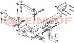 Attelage pour Land Rover Range Rover Sport L494 dès 10.2013 + faisceau spéc 7br