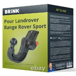 Attelage pour Landrover Range Rover Sport 02.2005 08.2009 Amovible Brink TOP