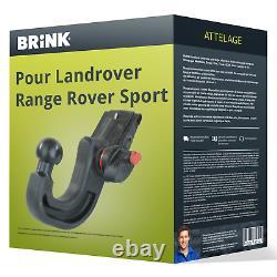 Attelage pour Landrover Range Rover Sport 09.2011 08.2013 Amovible Brink TOP