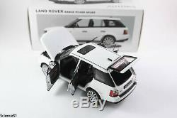 Autoart 1/18 74809 Land Rover Range Rover Sport 2006 WHITE