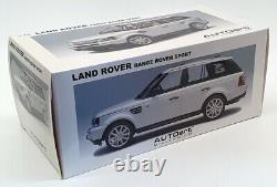 Autoart 1/18 Scale Model Car 74808 2006 Range Rover Sport Silver