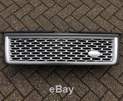 Autobiography Extension Calandre Range Rover Sport 05-09 Gris Argent GRATUIT