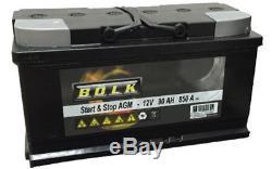 BOLK Batterie de démarrage 90ah / 850A Pour MERCEDES-BENZ CLASSE M BOL-G061018