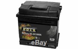 BOLK Batterie de démarrage 95ah/800A Pour RENAULT PEUGEOT BOXER BOL-C021712E