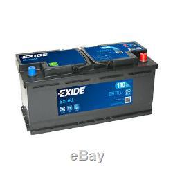 Batterie Exide EB1100 12v 110AH 850A