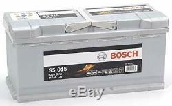 Bosch S5015 Batterie de Démarrage Pour Voiture 12V 110Ah 393x175x190mm