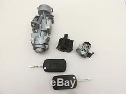 Bouton de Démarrage 2x Clé Cylindre Serrure Porte IV pour Range Rover Ls 05-13