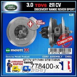 CHRA Melett Land Range Rover Discovery Sport 3.0 TDV6 245 211 Turbo 778400
