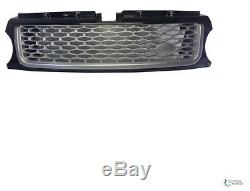 Calandre Grille Avant Range Rover Sport 2010-2012 Noir Silver Silver