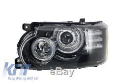 Central Grille+Fentes Latérale Gris Range Rover Vogue 02-09 L322+LED DRL Phares