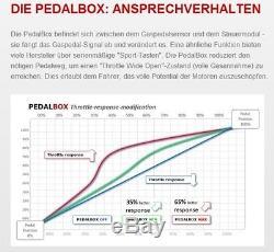Dte système Pedal Box 3 S pour JEEP COMMANDER WH à partir de 2005 3.0 L CRD V6