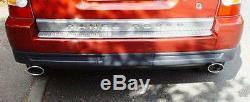 EMBOUTS CHROME SORTIE TUYAUX ECHAPPEMENTS pour LAND RANGE ROVER SPORT 05-09 V6