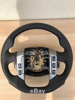Échange Mise au Point Aplati Volant en Cuir Multifonction Range Rover, Sport