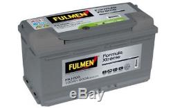 FULMEN Batterie de démarrage 100ah/900A Pour RENAULT LAGUNA PEUGEOT CITROEN