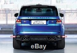 Feux Antibrouillard Arrieres Noir Fumé Range Rover Sport Svr 2014- Autobiography