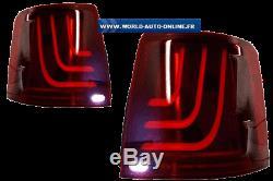 Feux Arriere Celis + Full Led Rouge Pour Range Rover L320 Sport De 2005 2013