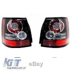Feux arrière Range Rover Sport Facelift 2005-2013 L320 Noir / Rouge