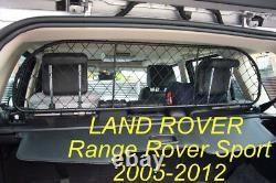 Filet Grille de séparation coffre pour Range Rover Sport, pour chiens et bagage