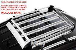 Freelander Discovery Landrover Plate-forme De Toit Support Galerie Transport Box