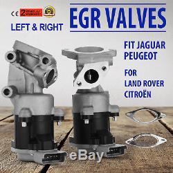 Gauche Droite Vanne EGR Pour Jaguar s LR018465 2.7 HDI Land Range Rover Sport