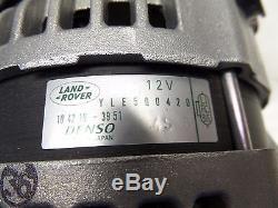 Genuine Range Rover Sport Tdv6 2.7 150 Amp Alternateur Yle500420 Denso