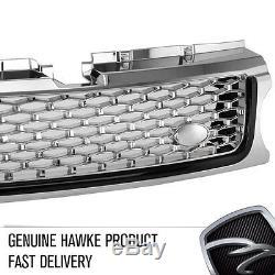 HAWKE AB Aspect Grille Calandre Avant Range Rover Sport 10 Chrome / / Noir