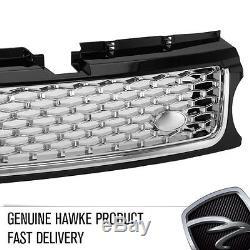 HAWKE AB Aspect Grille Calandre Avant Range Rover Sport 10 Noir/Chrome/chrome