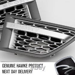HAWKE Autobiography Aspect Latéral Calandre Range Rover Sport 12 Gris